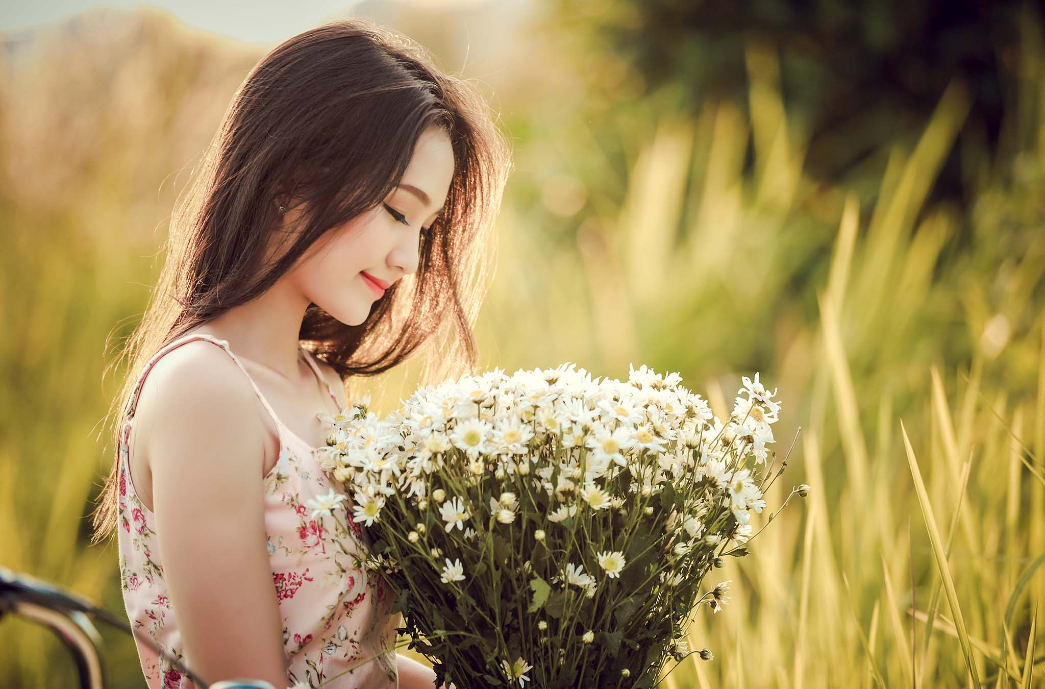 Bí quyết chụp ảnh thời trang với các loài hoa đẹp